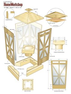 Woodworking Plans: Woodworking Plans Candle Lantern If you really are. Woodworking Plans: Woodworking Plans Candle Lantern If you really are. Woodworking Furniture Plans, Easy Woodworking Projects, Diy Wood Projects, Fine Woodworking, Wood Crafts, Woodworking Classes, Intarsia Woodworking, Woodworking Basics, Popular Woodworking