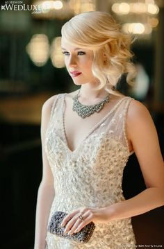 Marvelous Wedding Style And Wedding Hairdos On Pinterest Short Hairstyles Gunalazisus