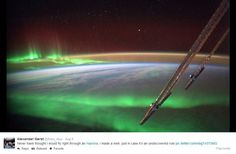 Astronaut Tweets Incredible Photos From Space