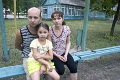 This Ukrainian family fled their home in the eastern city of Kramatorsk in late June because of the fighting and deaths. They found shelter and food in the city's Golubok children's camp, where they receive accommodation and food. With the city now in government hands, they hope to rebuild their lives.  ©UNHCR/I.Zimova