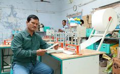 He has been working non-stop for 20 years. He travelled by bullock carts, donkeys, bulls, phatphat to reach the most interiors parts of rural India with only one mission in mind – making sanitary pads available for rural women. Little did he know that his small efforts will trigger India's sanitary pad revolution. Arunachalam Muruganantham