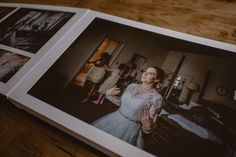 Bespoke, handmade Wedding Albums from the finest album maker in the wedding industry. Included in my wedding photography packages.