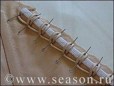 Клуб любителей шитья Сезон - сайт, где Вы можете узнать все о шитье - Воздушная петля из шнура рулика