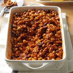 """Best-Ever Beans and Sausage Recipe -My wife devised this dish, which is extremely popular with our friends and family. When she asks, """"What can I share?"""" the reply is always, """"Bring your beans and sausage...and a few copies of the recipe."""" — Robert Saulnier, Clarksburg, Massachusetts"""