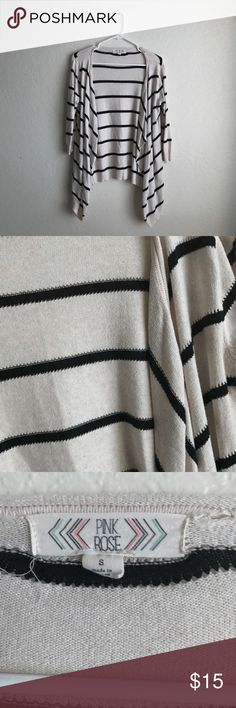 Striped cardigan Size small Sweaters Cardigans