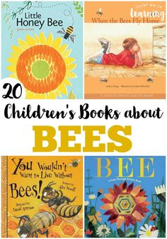 Children's Books about Bees is part of Beautiful children Books - Get ready for spring with these children's books about bees! Bee Activities, Sequencing Activities, Montessori Activities, Teaching Reading, Learning, Reading Lists, Bee Book, Preschool Books, Bee Theme