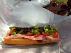 a real italian sandwich from the new england chain, amatos