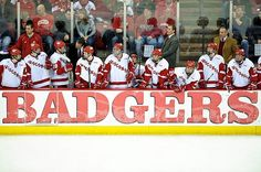 ✓ Attend a Wisconsin Badgers hockey game