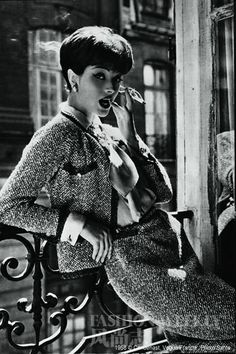 1958 classic Chanel tweed suit