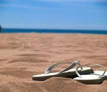 Inspiring picture beach, beautiful, flip flops, ocean, sand. Resolution: 497x367 px. Find the picture to your taste!