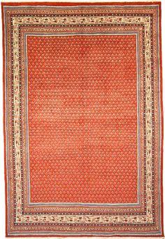 Red 6' 11 x 10' 4 Botemir Rug | Persian Rugs | eSaleRugs