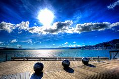 Wellington Waterfront. Didn't get to spend any time here... Next time