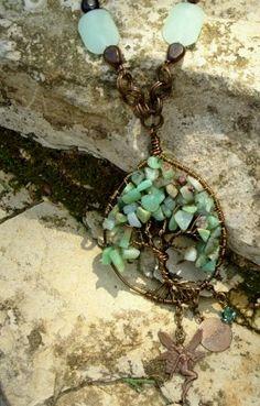 Tree of life necklace Shaylee #ibhandmade $27.50
