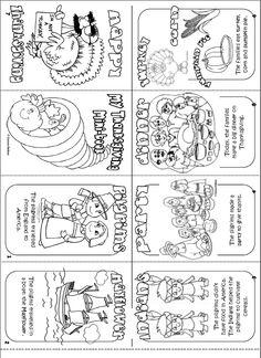 Thanksgiving mini book Printable