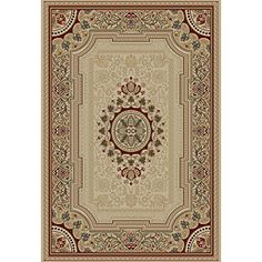 @Overstock - This Soho ivory rug features an intricate pattern with secondary colors of brown. This elegant Oriental area rug is a perfect complement to your home's interior decor.http://www.overstock.com/Home-Garden/Soho-Ivory-Oriental-Rug-710-x-103/5330284/product.html?CID=214117 $141.09