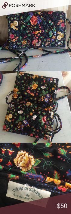 "Vintage /Vera Bradley/ crossbody small purse Retired vintage 1990 ""tavern on the green"" print crossbody purse. Excellent condition, Velcro closure, adjustable strap. Thank you! Vera Bradley Bags Crossbody Bags"