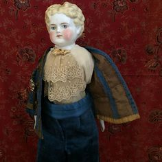 Best dressed china ever! from ocdollcompany on Ruby Lane China Dolls, Antique China, Pretty Dolls, Doll Head, Boy Doll, Ruby Lane, Antique Dolls, Teddy Bears, Compliments