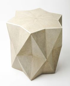 simon Morrell designs shagreen star side table, deringhall.com
