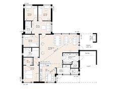 Hovås - Myresjohus.se My Room, My Dream Home, Planer, The Dreamers, House Plans, New Homes, Floor Plans, Construction, Flooring