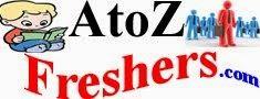 AtoZfreshers.com | Jobs | Bank Jobs | Daily Job Updates | It Jobs | Walkins | Bpo Jobs | Govt Jobs