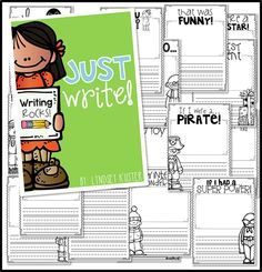 """FREE writing prompts!...Follow for Free """"too-neat-not-to-keep"""" teaching tools & other fun stuff :)"""