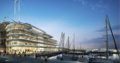 ​Lifestyles Of The Rich And The Famous: Foster + Partners' Luxurious Monaco Yacht Club Sets Sail - Architizer