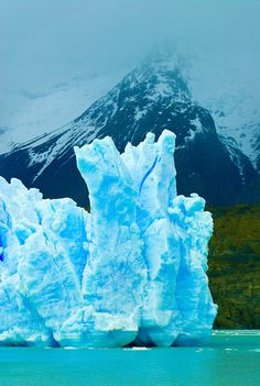 Grey Lake Torres del Paine, Chile   ... Lake (Lago Grey), Torres del Paine National Park, Patagonia, Chile