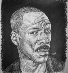"""""""There's something about the ice cream truck that makes kids lose it. And they can hear that shit from ten blocks away. They don't hear their mothers calling but they can hear that motherf**king ice cream truck."""" 🍦 🎭   #eddiemurphy #sillyfacesseries #rainbowriverart"""