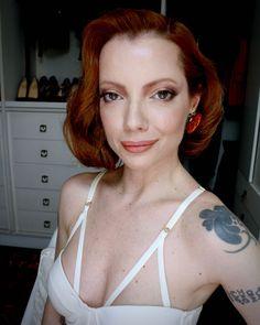 Julia Petit maquiagem inspirada no look que Lady Gaga usou no Oscar.