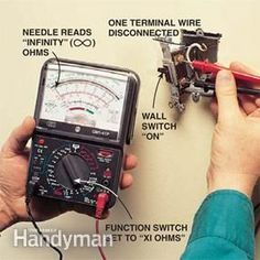 Test batteries, electrical circuits, broken appliances and more with this helpful tool.