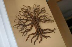 DIY Twisted oak tree - Tutorial