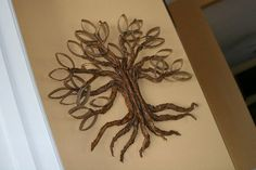 DIY Twisted oak tree - Tutorial