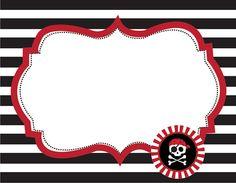 pirate printable labels