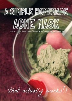 A Simple Homemade Mask for Acne (that actually works!)  #naturalskincare #healthyskin #skincareproducts #Australianskincare #AqiskinCare #SkinFresh #australianmade