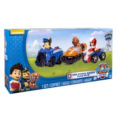 Paw Patrol Racers 3Pack Vehicle Set Chase Zuma and Ryder ** You could get even more information by clicking the picture. (This is an affiliate link). #giftsforhim