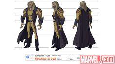 Sabertooth [ Wolverine and the X-Men ] Character Model Sheet, Man Character, Character Modeling, Character Design, X-men Evolution, Character Turnaround, Beast Boy, Black Lightning, Black Canary