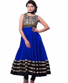 https://www.a1designerwear.com/charming-blue-and-black-anarkali-salwar-kameez
