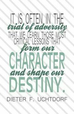 Trial of adversity