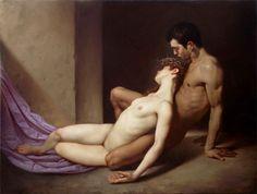 Roberto Ferri, um novo Caravaggio emerge na Itália? Italian Painters, Italian Artist, Erotic Art, Traditional Art, Traditional Paintings, Figurative Art, Les Oeuvres, Painting & Drawing, Figure Drawing