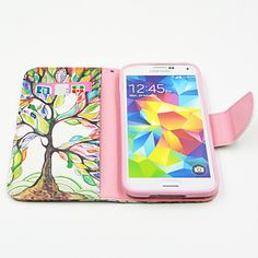 magic spider®tree PU nahka lompakko täynnä kotelo kansi näytön suojus Samsung Galaxy S5 – EUR € 8.99