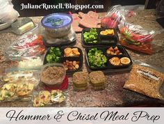 The Master's Hammer and Chisel Meal Prep