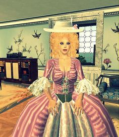 Virtual World Notes: You are invited to an18th Century Literary Salon Saturday in Second life!