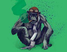"Check out new work on my @Behance portfolio: ""Captain Ape // Kapitan Małpa"" http://be.net/gallery/60198421/Captain-Ape-Kapitan-Malpa"