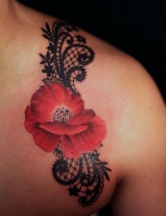 Lace Flower Tattoo | Lace/flower tattoo | The Mother Board