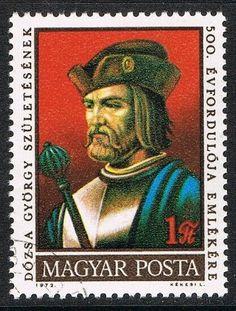 [CF7461] Hungría 1972, V Cent. del nacimineto de Gyorgy Dozsa (CTO) Postage Stamps, Baseball Cards, Ebay, Stamps