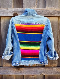 | gull + marie | blue serape jacket                                                                                                                                                      More