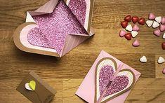 scatola origami con cuore 20 Min, Origami, Pane, Spring, Origami Paper, Origami Art