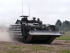 Challenger Armoured Repair & Recovery Vehicle 2