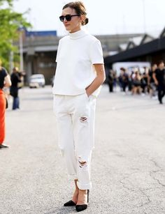 look-todo-branco-calca-boyfriend