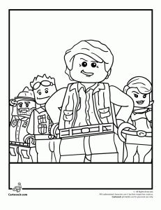 Lego Clutch Powers Coloring Sheet